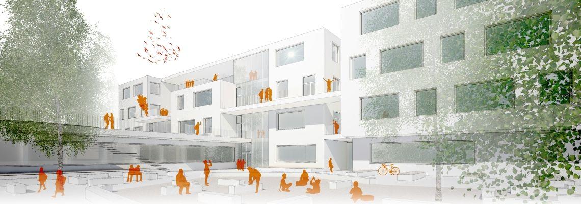 Neues Schulzentrum Für Oberlaa Wien Holding