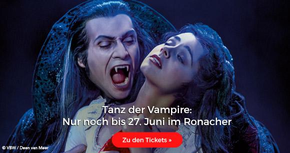 Tanz der Vampire: Nur noch bis 27. Juni im Ronacher