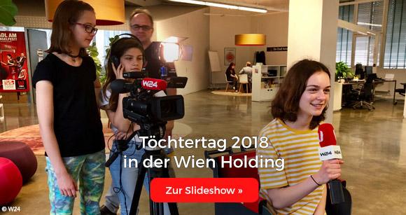 Töchtertag 2018 in der Wien Holding