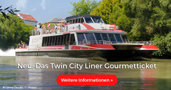 Neu: Das Twin City Liner Gourmetticket