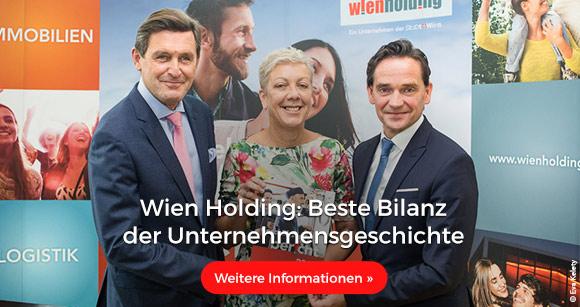 Wien Holding: Beste Bilanz in Unternehmensgeschichte