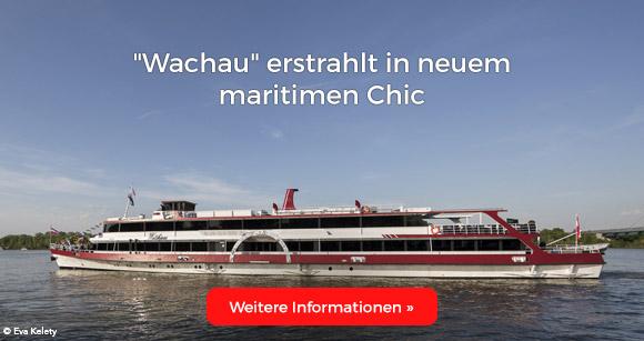 Wachau erstrahlt in neuem maritimen Chic