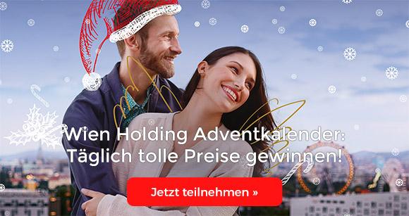 Wien Holding Adventkalender: Täglich tolle Preise gewinnen