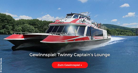 Gewinnspiel: Twinny Captain's Lounge
