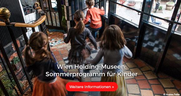 Wien Holding Museen: Sommerprogramm für Kinder