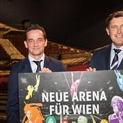 Auftakt für neue große Arena in Wien