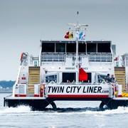 Neuer Twin City Liner hat österreichische Gewässer erreicht