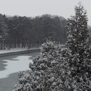 Winterliches Laufvergnügen beim zweiten Schlosspark Laufcup