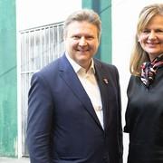 FOTO WIEN: Besuch von Bürgermeister Ludwig