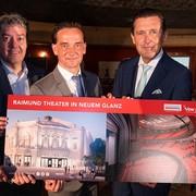 Vereinigte Bühnen Wien: Raimund Theater bald in neuem Glanz