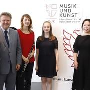Bürgermeister Michael Ludwig zu Gast in der MUK