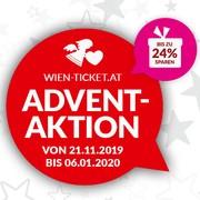 Wien-Ticket-Adventaktion ab 21. November 2019