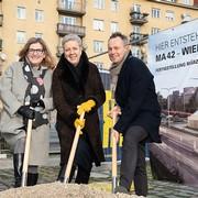 Margareten: Baustart für neuen Lagerplatz der Wiener Stadtgärten