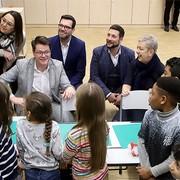 Neue Schulklassen und Bewegungsräume in der VS Mittelgasse eröffnet