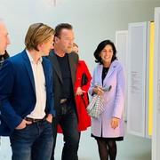 Arnold Schwarzenegger besuchte Jüdisches Museum Wien
