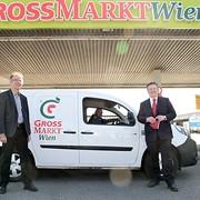 Bürgermeister Michael Ludwig besucht den Großmarkt Wien