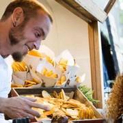 European Street Food Festival vor der Wiener Stadthalle