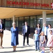 Neue Ganztagsvolksschule an der Erlaaer Schleife