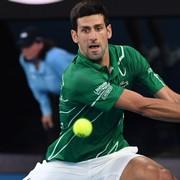 Novak Djokovic bei Erste Bank Open in der Wiener Stadthalle