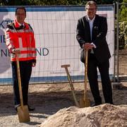 Spatenstich für neue Rettungsstation der Berufsrettung Wien in Liesing