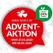 Wien-Ticket-Adventaktion ab 27. November 2020
