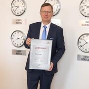 Hafen Wien erneut als Leitbetrieb zertifiziert