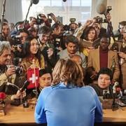 Dreharbeiten für Franz Klammer-Film in der Wiener Stadthalle
