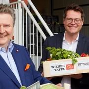 Großmarkt Wien: Neue Lebensmittelzentrale der Wiener Tafel