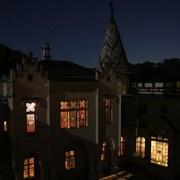 Die Franzensburg bei Nacht erleben