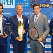Erste Bank Open 2021 in der Wiener Stadthalle